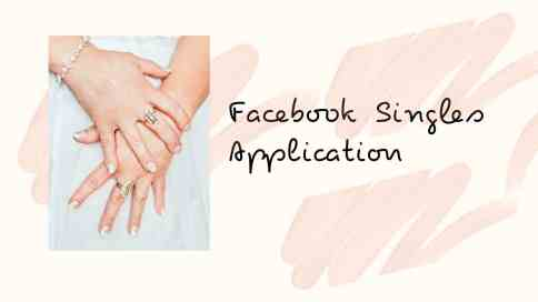 Facebook Singles Application