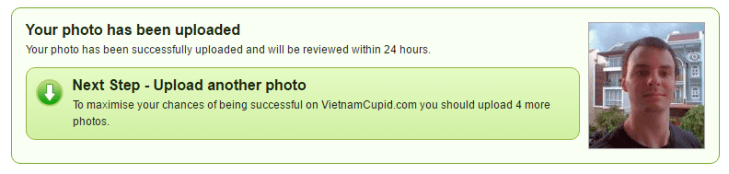 How To Upload A Profile Pic To VietnamCupid