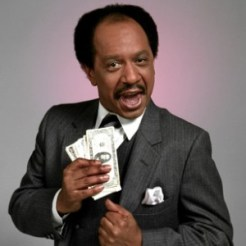 "Sherman Hemsley as ""George Jefferson"""