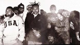 Hip Hop's first Mega group.. Wu-Tang Clan