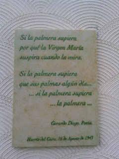 Placa Gerardo Diego