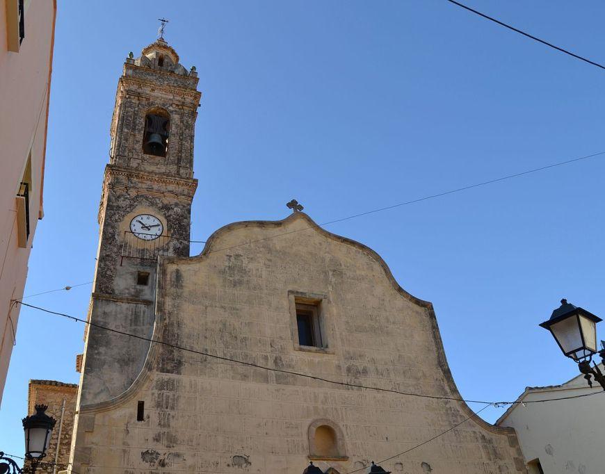 iglesia de Alcalali