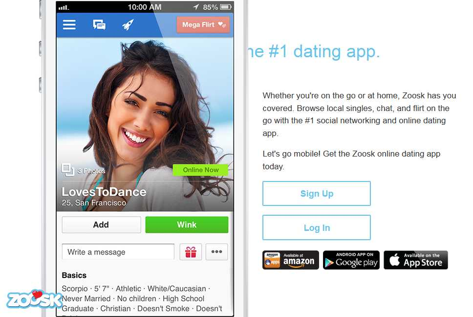 comprehensive review and summary of the Zoosk.com dating service