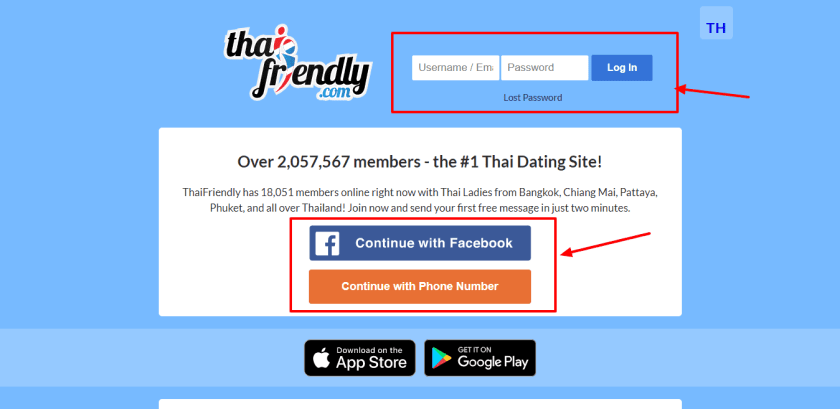 Create ThaiFriendly account for chat with hot girls - ThaiFriendly Login