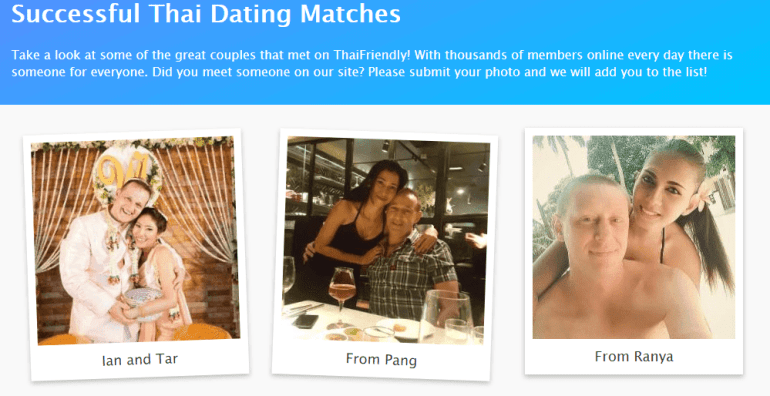 ThaiFriendly Review- Successful Thai Dating