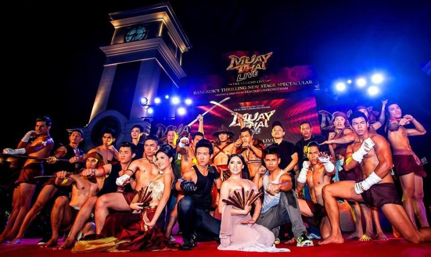Muay Thai Live Show in Thailand - Knockout show