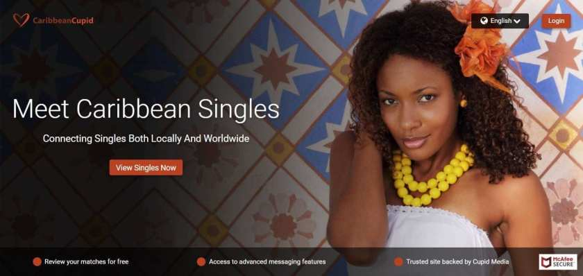 CaribbeanCupid Review Homepage