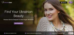 UkraineDate Review Homepage