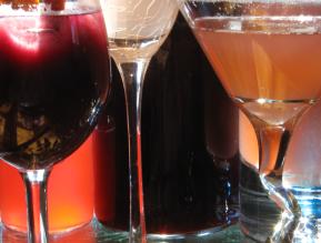 three drinks I