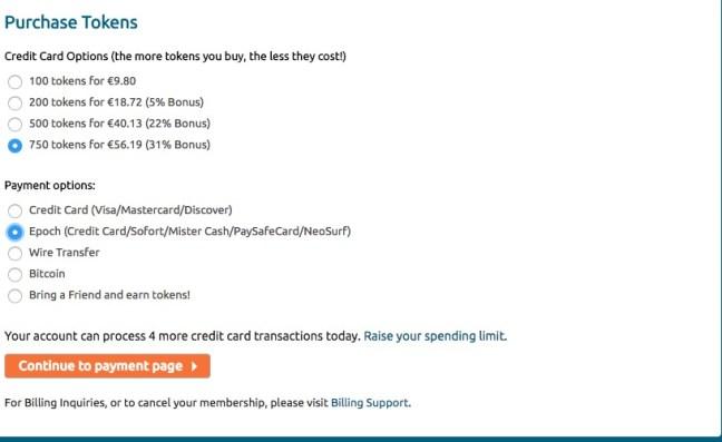 chaturbate epoch card method chaturbate token cost