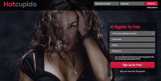 Adult dating site review