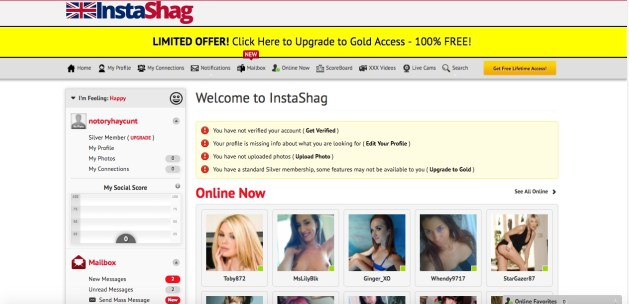 insta shag profiles