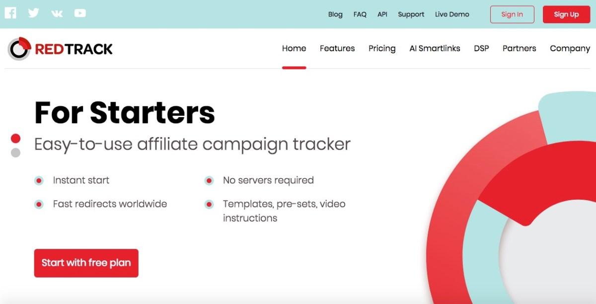 redtrack.io affiliate marketing tracker