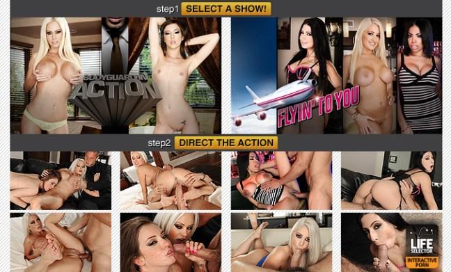 life selector interactive porn