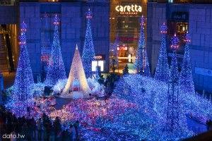 [群馬溫泉1-1]東京跨年、燈光秀