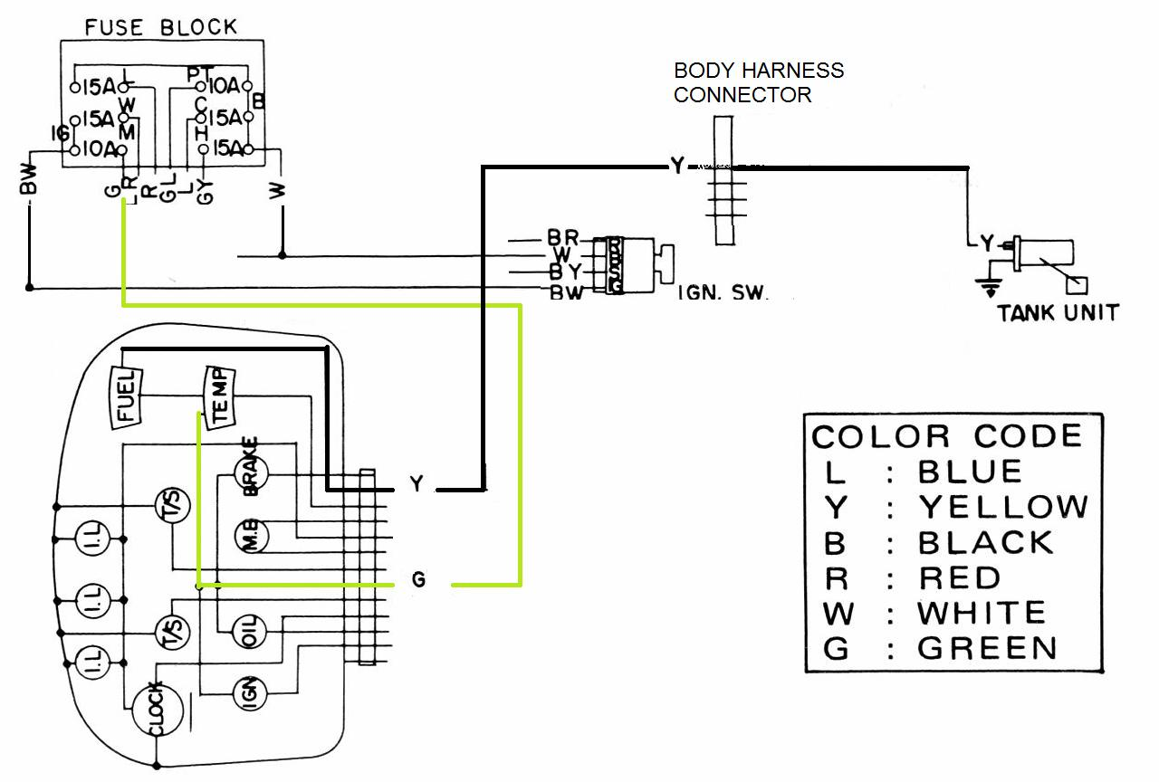 Fuel Level Sensor Wiring Diagram