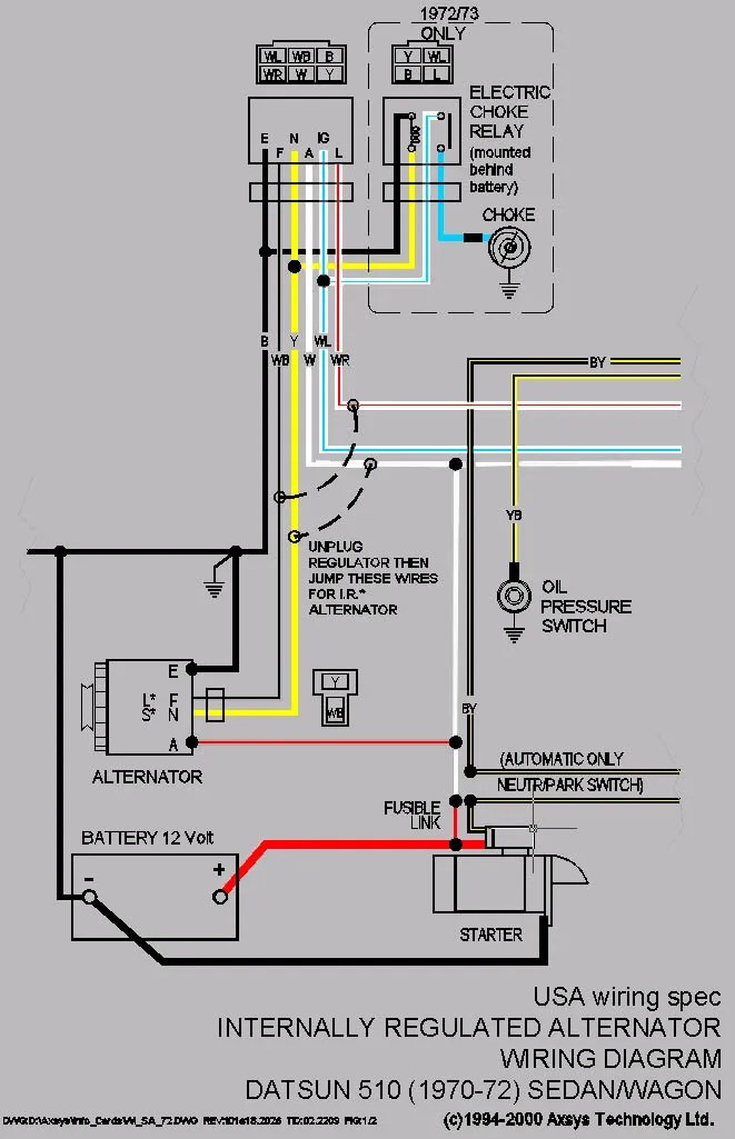 Wiring Diagram For Denso Alternator ndash The Wiring Diagram