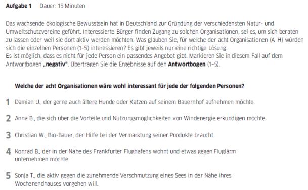 Học tiếng Đức miễn phí với DatTranDeutsch - Bài thi B2 phần đọc 1a