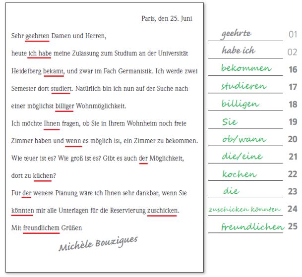 Học tiếng Đức miễn phí với DatTranDeutsch - Bài thi B2 đáp án phần viết 2