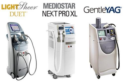 メンズリゼクリニックの3種類の医療脱毛レーザー