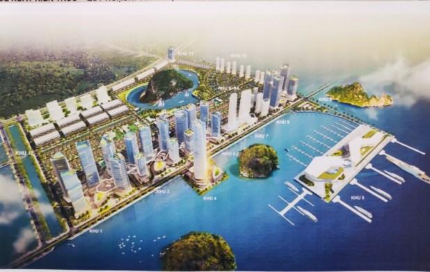Tổng quan dự án khu đô thị Ao Tiên Vân Đồn