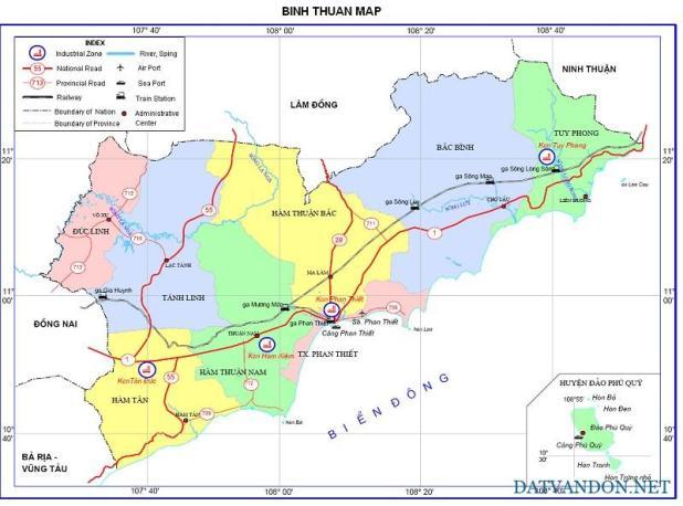 Quy hoạch giao thông tỉnh Bình Thuận