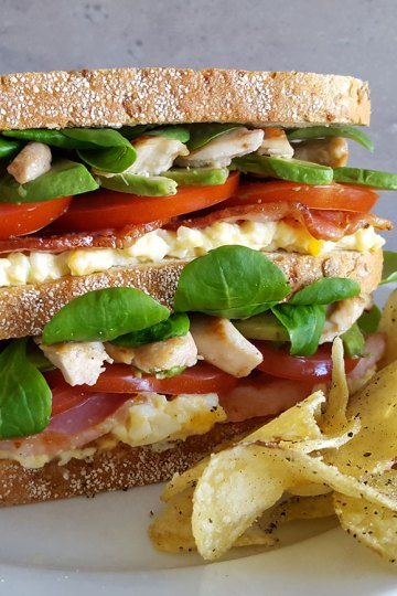 Tante Door clubsandwich
