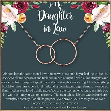 Daughters-in-Law Gift Necklace