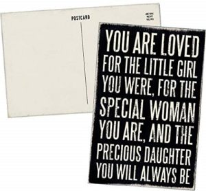 You are Loved Greeting Card for Daughters Day