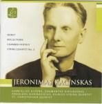 Cover : Jeronimas Kačinskas