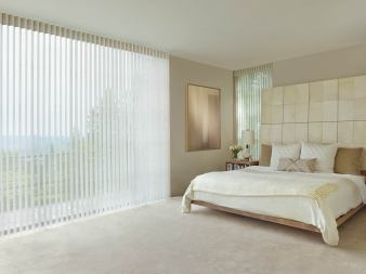 Bedroom Luminette Window Coverings