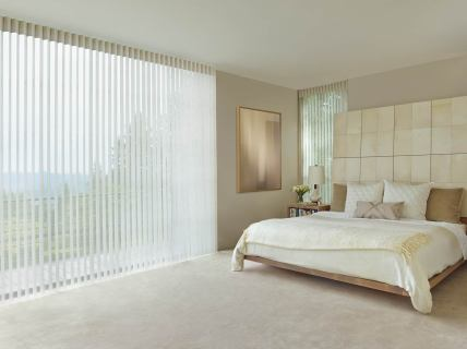 Bedroom Luminette Window Coverings