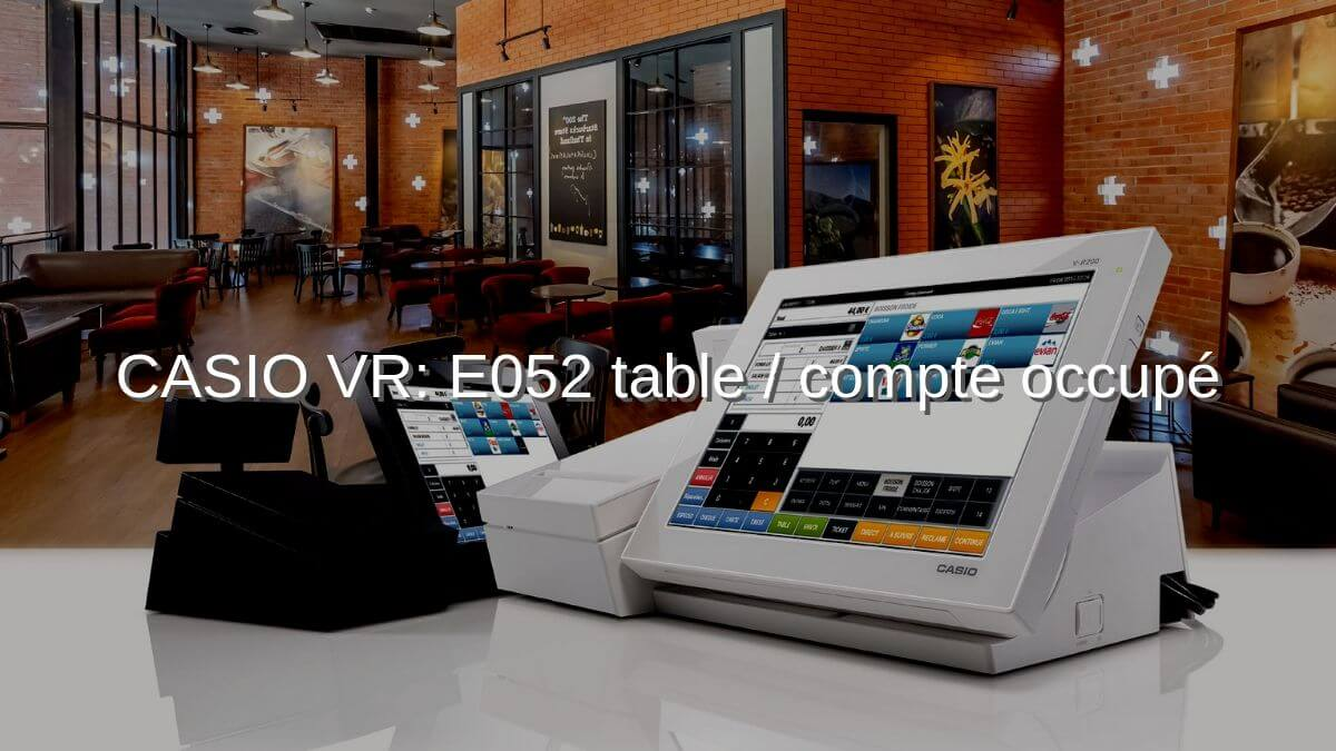 CASIO VR- E052