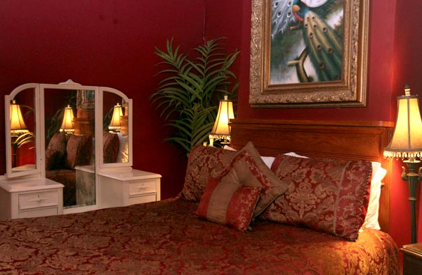The Ingenue Room at Dauphine House