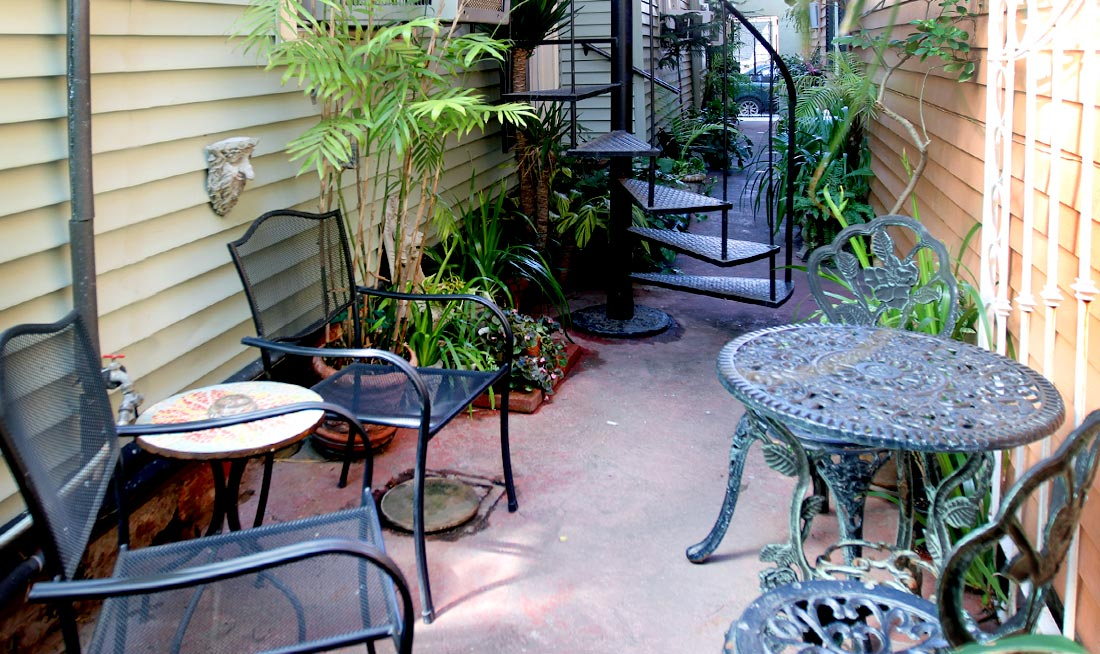 The Courtyard at Dauphine House
