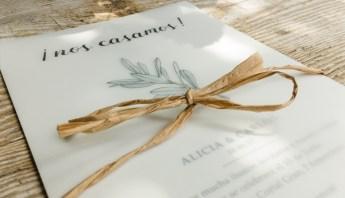 Invitació casament Empordà