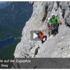 Wiederentdecker Steig auf der Zugspitze – Auf den Spuren früherer Alpinisten