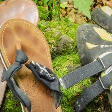 Die erste Kletterausrüstung – was kaufe ich? – Kletterschuhe.