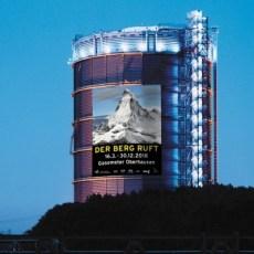 "16.3. bis 30.12.2018 Gasometer Oberhausen: Ausstellung ""Der Berg ruft"""
