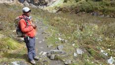 Unser Guide Hom Thapa Magar