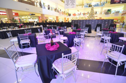 mall decor corporate event coordinator in davao - bpi amore in abreeza 3
