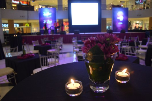 mall decor corporate event coordinator in davao - bpi amore in abreeza 2