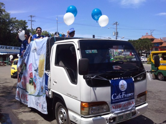 Our main motorcade truck! :)