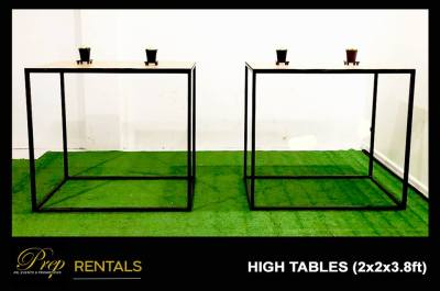 RENTALS - LONG COCKTAIL TABLES