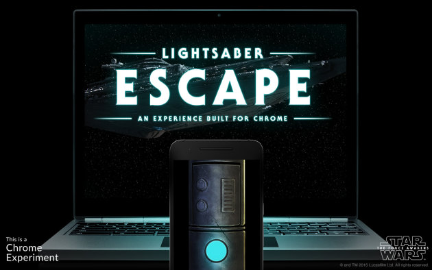 Lightsaber Escape