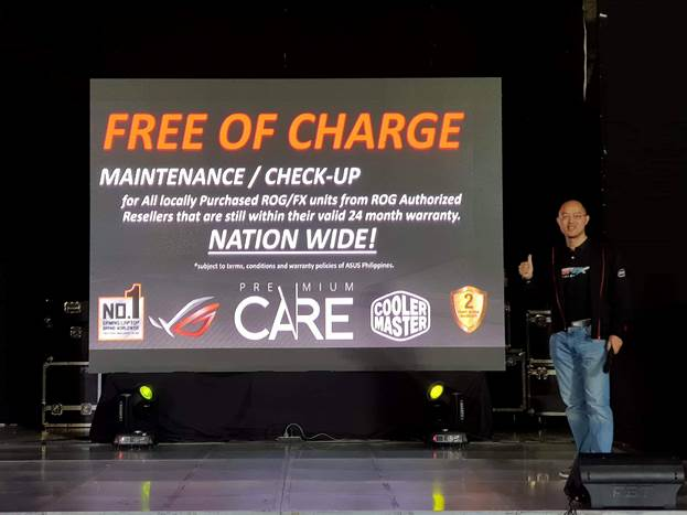 ROG Premium Care Free Charge