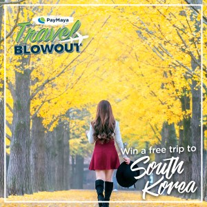 PayMaya Travel Blowout South Korea