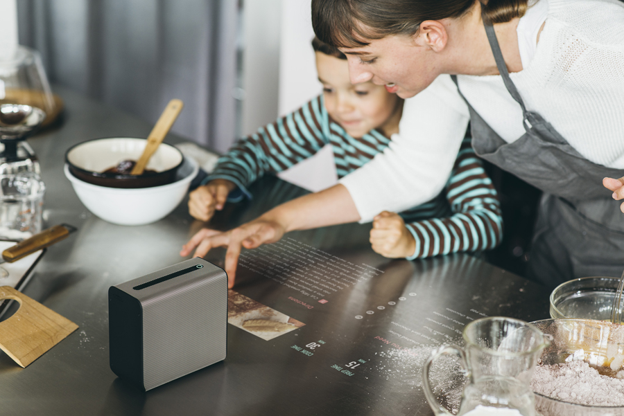 Xperia Touch baking