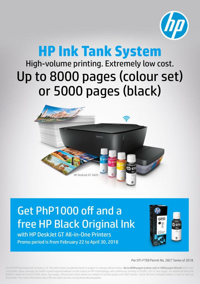 HP Deskjet GT promo