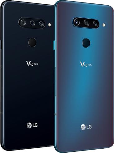 LG V40 ThinQ colors
